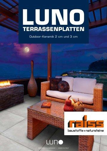 Luno Terrassenplatten - Raiss