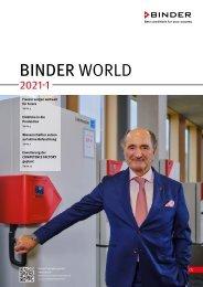 BINDER-WORLD Katalog 2021