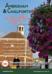 Amersham and Chalfonts Together - July - August 2021 Issue