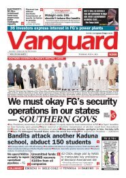 06072021 - We must okay FG's security operations in our states- Southern Govs