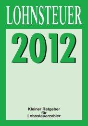 Kleinen Ratgeber für Lohnsteuerzahler 2012