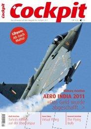 AERO INDIA 2011 «Das Geld wurde abgeschafft…» - Cockpit