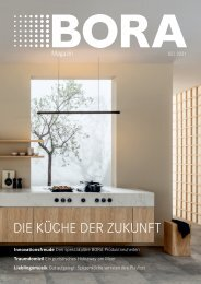 BORA Magazin 02|2021