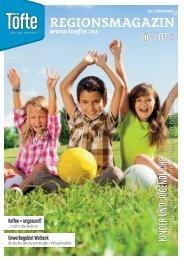 Töfte Regionsmagazin 06/2021 - Kinder und Jugendliche