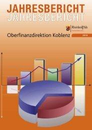 Jahresbericht 2010 - Oberfinanzdirektion Koblenz