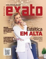 Revista EXATO - Edição 1 - Maio 2019