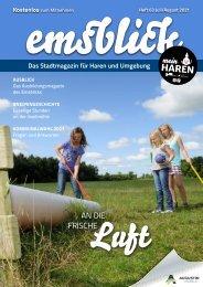 Emsblick Haren - Heft 63 (Juli-August 2021)