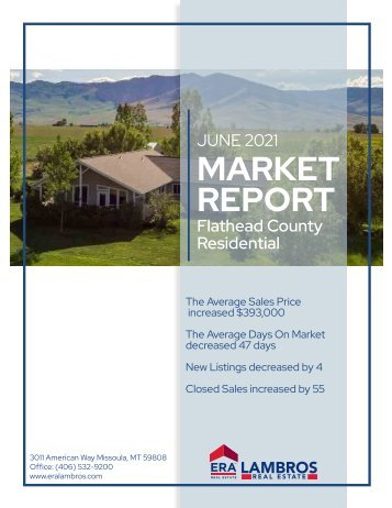 Flathead County Residential Report June2021