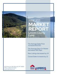Lincoln County Land Report June2021