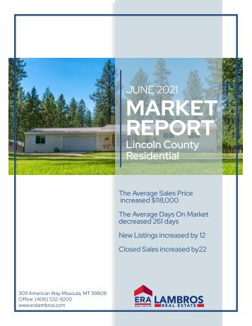 Lincoln County Residential Report June2021