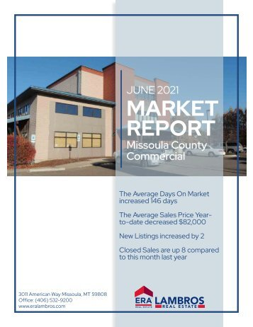 Missoula County commercial report June 2021