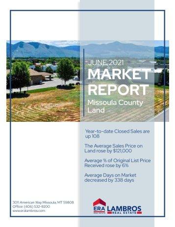 Missoula County Land June 2021