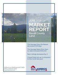 Ravalli County Land Report June 2021