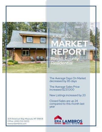 Ravalli County Residential Report June 2021