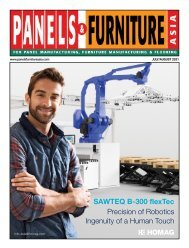 Panels & Furniture Asia July/August 2021