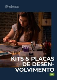 Velleman - Kits & Placas de Desenvolvimento 2021 - PT