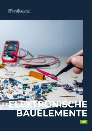 Velleman - Elektronische Bauelemente 2021 - DE