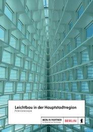 Leichtbau in der Hauptstadtregion Berlin-Brandenburg