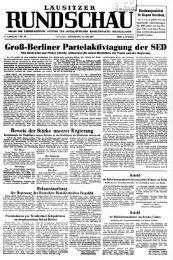 Lausitzer Rundschau vom 18. Juni 1953
