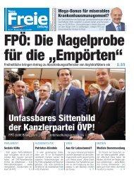 FPÖ: Die Nagelprobe für die