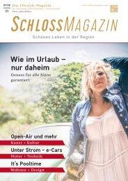 SchlossMagazin Augsburg Nordschwaben + Fünfseenland Juli-August 2021