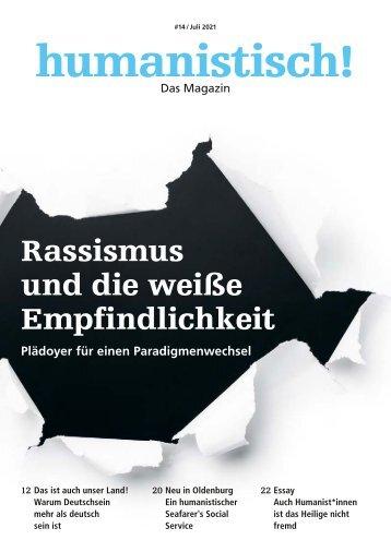 humanistisch! Das Magazin #14 - 3/2021