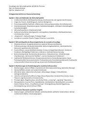 Grundlagen der Wirtschaftspolitik, WS 09/10, FSU Jena Dipl. Vw ...