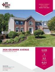 2026 Glenmark Ave Marketing Flyer