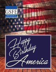 GSFE Newsletter-July 2021