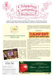 Chipping Campden Bulletin July 2021 Issue