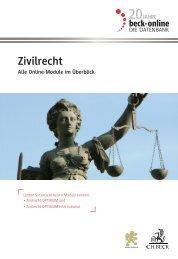 beck-online Zivilrecht