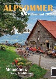 Alpsommer & Viehscheid 2021 E-Paper