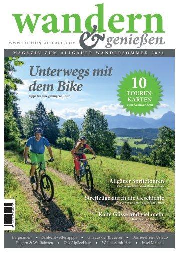 Wandern & Genießen 2021 E-Paper