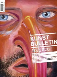 Kunstbulletin Oktober 2020