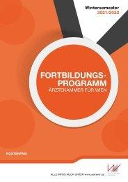 Seminarprogramm Wintersemester 2021-22