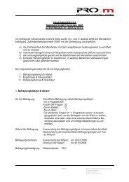 ERGEBNISBERICHT MANDANTENBEFRAGUNG ... - Leins & Seitz