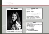 Download Profil Sonja Grosser (pdf) - bei G-Consultants