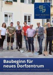 Bad Häring informiert Ausgabe 2/2021