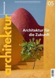 architektur FACHMAGAZIN Ausgabe 5 2021