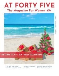 Christmas In July: New Family Celebrations AT FORTY FIVE Magazine Issue 2101 02
