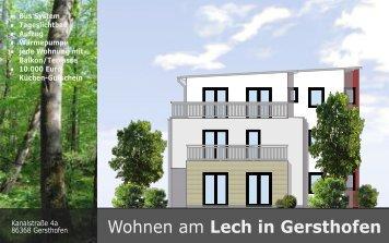 Wohnen am Lech in Gersthofen - ABI Immobilien GmbH