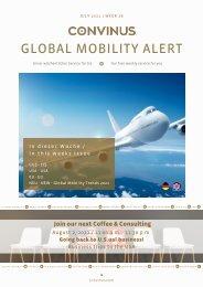 CONVINUS Global Mobility Alert Week 28