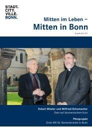 Mitten in Bonn - LeA Lebensqualität im Alter eV