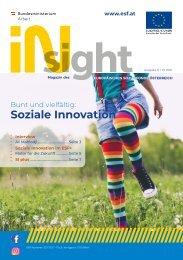 ESF insight Ausgabe 11 - Juli 2021