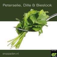 Peterselie, Dille & Bieslook 2021