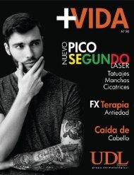 Revista +VIDA UDL grupo dermatológico