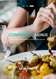 Silja Line Conference Catering Menu (ENG) 07.2021