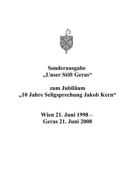 Jakob-Kern-Liturgie - Postulator Generalis Ordinis Praemonstratensis