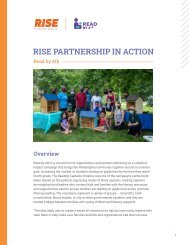RISE Partnership in Action: Read by 4th