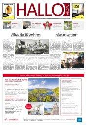 Hallo-Allgäu  vom Samstag, 17.Juli